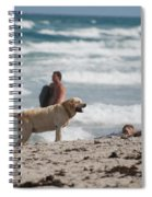 Ocean Dog Spiral Notebook