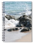 Ocean Drive Rocks Spiral Notebook