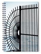 Ocean Fence Spiral Notebook