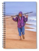 Ocean Fisherman Spiral Notebook