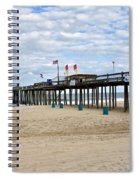 Ocean Fishing Pier Spiral Notebook