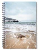 Ocean Flows Spiral Notebook