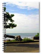 Ocean Formed Tree Spiral Notebook