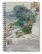 Ocean Front, Gloucester, Massachusetts Spiral Notebook