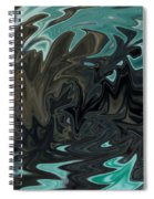 Ocean Fury Spiral Notebook