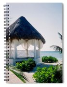 Ocean Gazebo Spiral Notebook