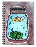 Ocean In A Botle  Spiral Notebook