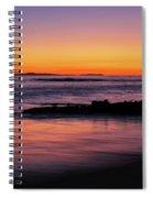 Ocean In Motion Spiral Notebook