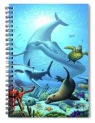 Ocean Life Spiral Notebook