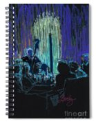 Ocean Lounge Jazz Night Spiral Notebook
