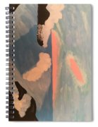 Ocean Painting Spiral Notebook