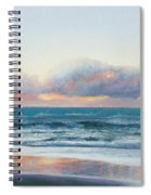 Ocean Painting - Days End Spiral Notebook