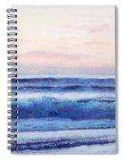 Ocean Painting 'dusk' By Jan Matson Spiral Notebook