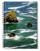 Ocean Rock Spiral Notebook