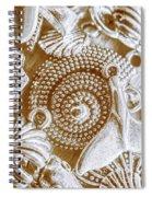 Ocean Sea Abstract Spiral Notebook