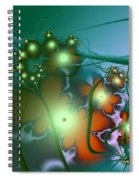 Ocean Secrets Abstract Spiral Notebook