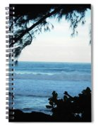 Ocean Silhouette Spiral Notebook