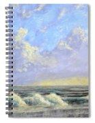 Ocean Storm Sunrise Spiral Notebook