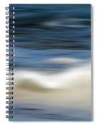 Ocean Stretch - Abstract Spiral Notebook