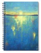 Ocean Sunset Spiral Notebook