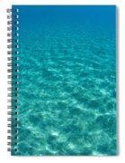 Ocean Surface Reflections Spiral Notebook