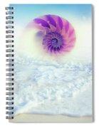 Ocean To Infinity Spiral Notebook