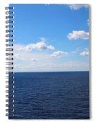 Ocean Tranquility  Spiral Notebook