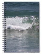 Ocean Wave On The Pacific In Huntington Beach Spiral Notebook