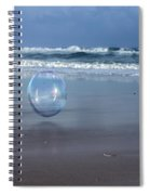 Oceanic Sphere  Spiral Notebook