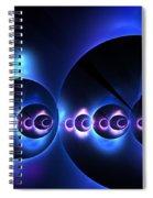 Oceanic Spheres Spiral Notebook