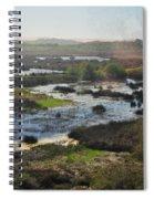 Oceano Dunes Natural Preserve Portrait Spiral Notebook