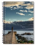 Ocean's Skys Spiral Notebook