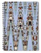 Oceanside California Abstract, Spiral Notebook