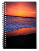 Oceanside Sunset Spiral Notebook