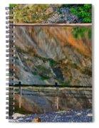 Ocoee Dam Reflection Spiral Notebook