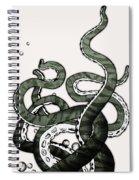 Octopus Tentacles Spiral Notebook