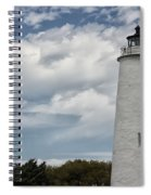 Ocracoke Island Lighthouse Spiral Notebook