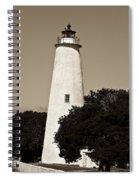 Ocracoke Lighthouse Spiral Notebook