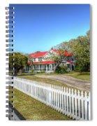 Ocracoke Lighthouse, Ocracoke Island, Nc Spiral Notebook