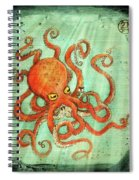 Octo Tako With Surprise Spiral Notebook