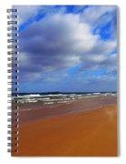 October Beach Spiral Notebook