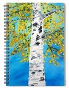 October Birch Spiral Notebook