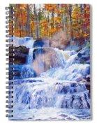 October Falls Spiral Notebook