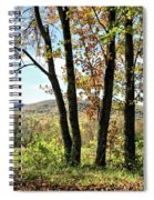 October In Vermont Spiral Notebook