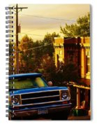 October Light In Duluth Spiral Notebook