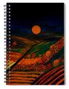 October Night Spiral Notebook