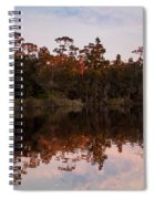 October Reflections On The River Spiral Notebook