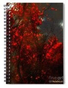 October Sky Spiral Notebook