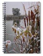October Snow Spiral Notebook