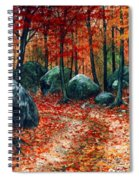 October Woodland Spiral Notebook